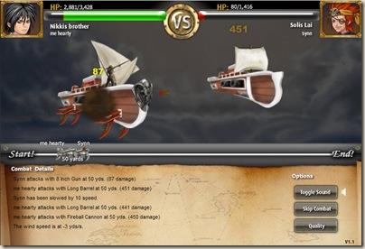 海盜王戰鬥畫面