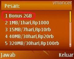xl-internet unlimited-bonus 2GB-kartu khusus-vmancer