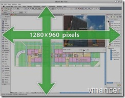 archicad optimal screen size
