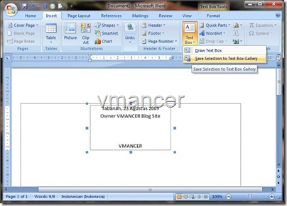 save template - microsoft office word 2007