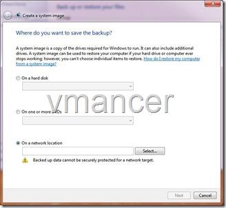 backup - system image