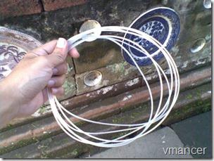 bahan senar (tali pancing berukuran besar)