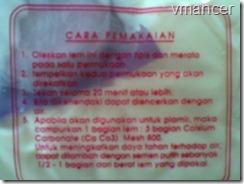 penggunaan lem putih PVAc