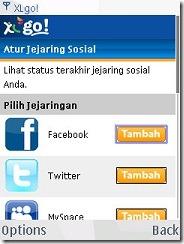 xl go - jejaring sosial
