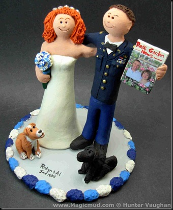 Redneck Wedding Cake Toppers