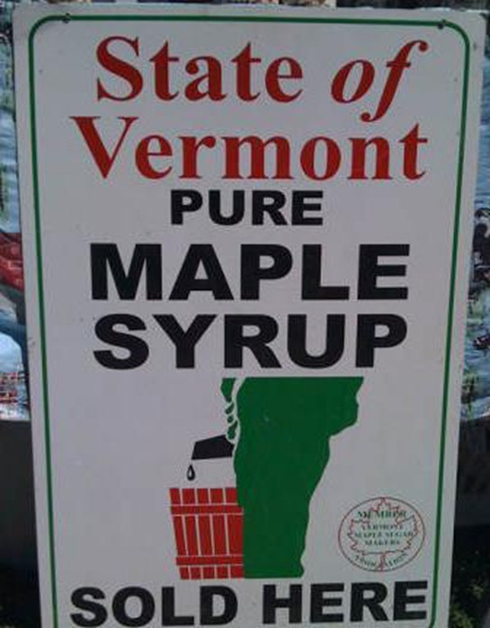 Hot Frothy Maple Syrup