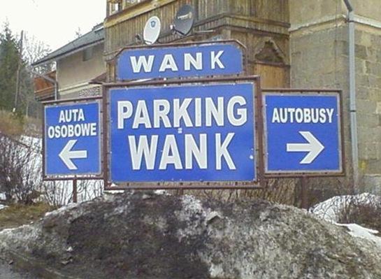 Parking Wank