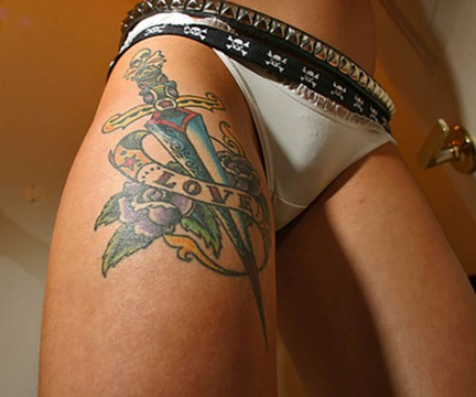 on tattoos for women in the back area in fact there have been very few