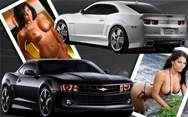 camero_and_hot_women_wallpaper