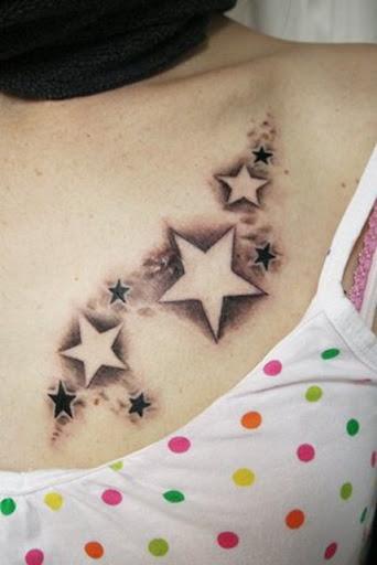 Star Foot Tattoo Ideas awesome star tattoo