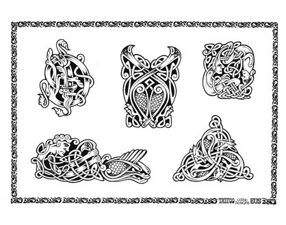 Within the existing day Celtic Tattoo Designs are well-liked in tattoo fine