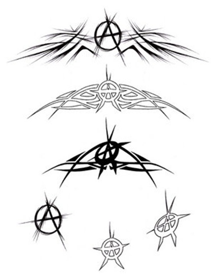 Anarchy_Tattoos_by_CuttingTheDays
