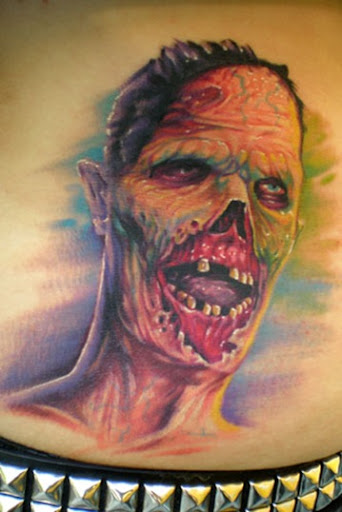 Cool zombie tattoos