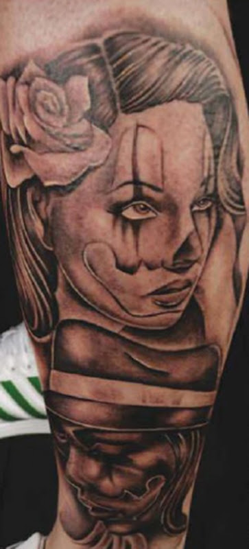 Clair Reid tattoo 18