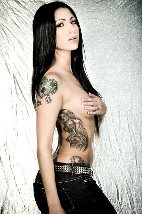 Laura tattooed 2