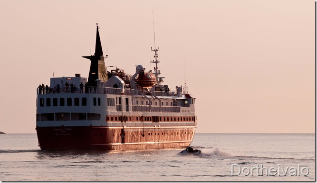 skibet skal sejle i nat