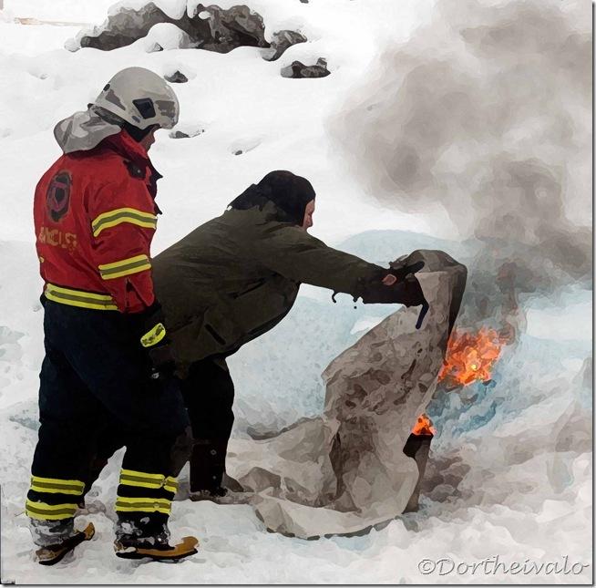 brandslukning