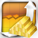 Gold Rising Free icon
