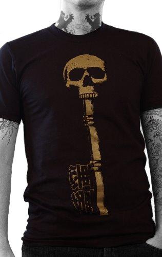 gold key, skeleton key, haunted shirt, skull tshirt, gold shirt, keys