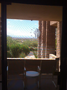 Loews Ventana Canyon Resort patio