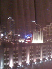 Strip view from Flamingo Casino in Las Vegas
