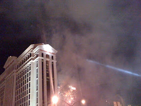 New Years eve Las Vegas Fireworks