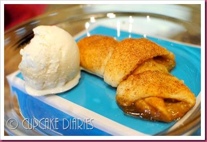 Caramel Apple Crescent Rolls - Cupcake Diaries