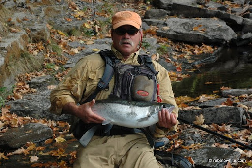 Dave with steelhead