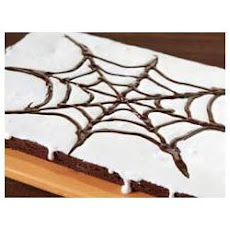 BAKER'S® ONE BOWL Spider Web Brownies