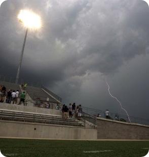 football lightning