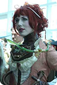 1steampunk girl