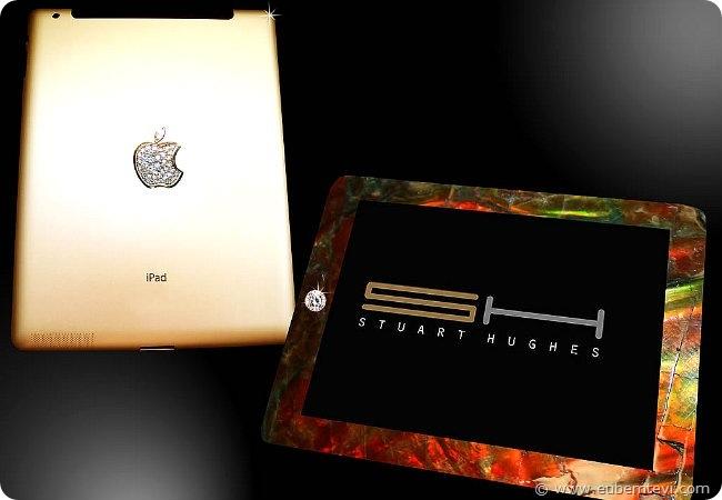 ipad Stuart Hughesi acaba de apresentar o Pad2 Gold History Edition, esse da foto acima!