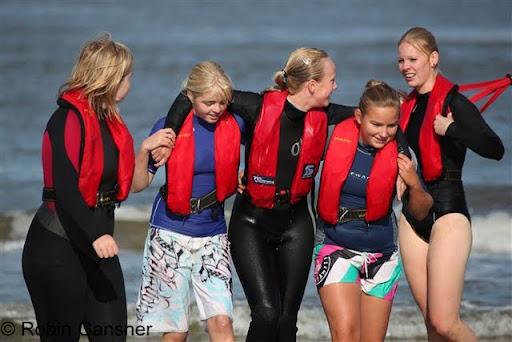 Strandwacht examen - Foto Robin Gansner