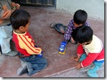 Donaciones entregadas a los niños F4