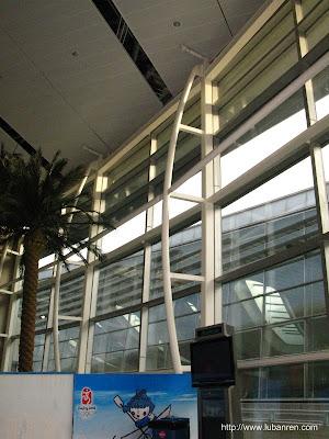 北京南站的钢结构(二)