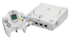Sega Dreamcast com Controle Europeu - A História dos Vídeo Games - Nintendo Blast