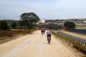 mtb leganes en el río Guadarrama