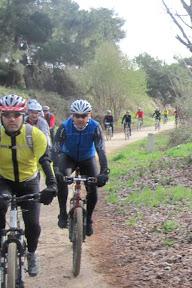 Arroyomolinos y Monte Batres con MTB Leganés
