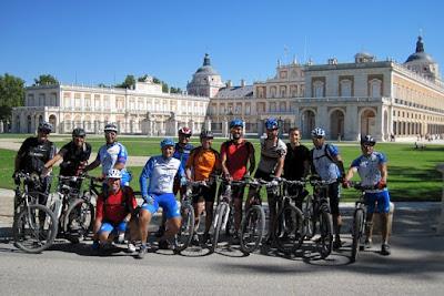 MTB Leganes en Aranjuez