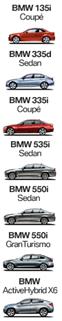 BMW lD lineup