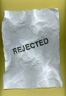 rejected and crumpled 500x735