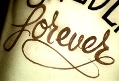 "tattoo: ""forever"""