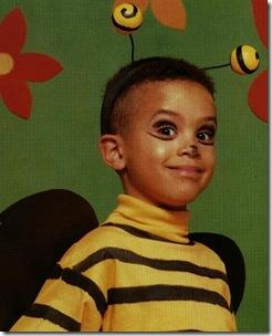 Con estas manitas Disfraz de abeja casero
