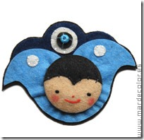 manualidades broches en fieltro (3)