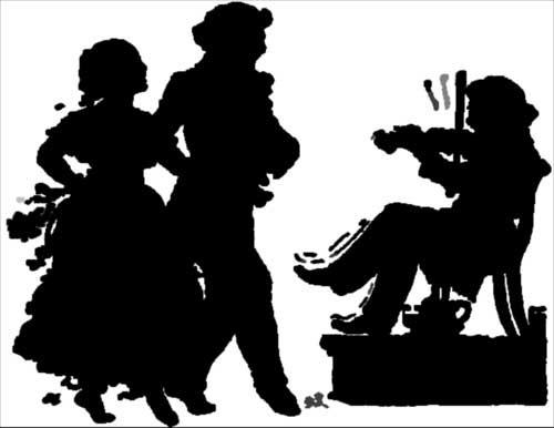 siluetas en negro vintage (10)