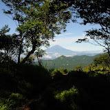 不動の峰から富士山。