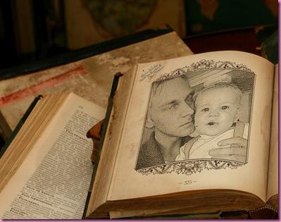 Pappa og lillegutt