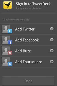 TweetDeck for Android - Screenshot 01
