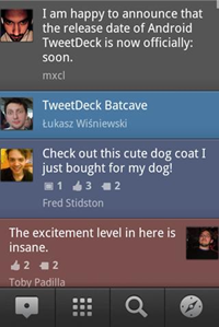TweetDeck for Android - Screenshot 02