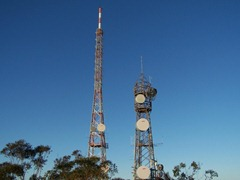 Twin Communication Towers